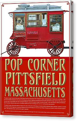 Pop Corner With History Canvas Print