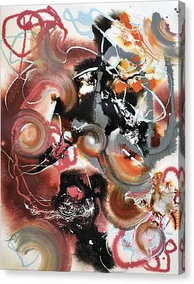 Pop Fluid No. 2 Canvas Print