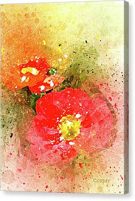 Poppies 5 S Canvas Print