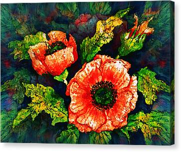 Poppies Canvas Print by Natalie Holland