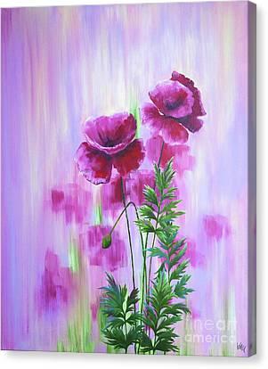 Poppy Haze Canvas Print