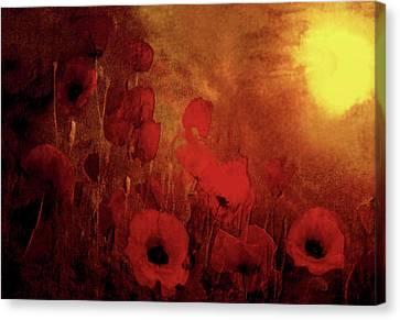 Poppy Heaven Canvas Print