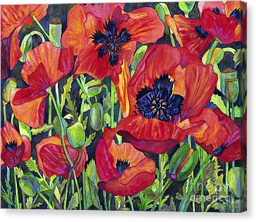 Poppy Profusion Canvas Print