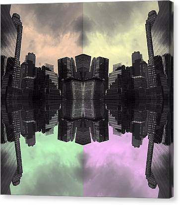 Popstract Canvas Print