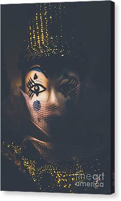 Porcelain Doll. Performing Arts Event Canvas Print by Jorgo Photography - Wall Art Gallery