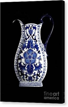 Porcelain1 Canvas Print by Jose Luis Reyes