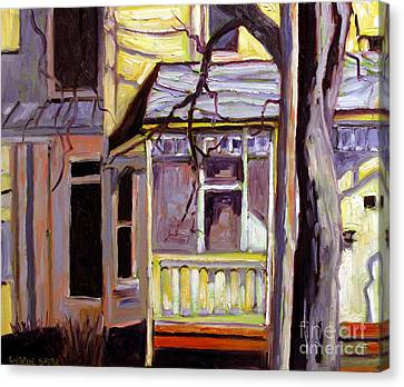 Artistic License Canvas Print - Porch Alight With The Sun by Charlie Spear