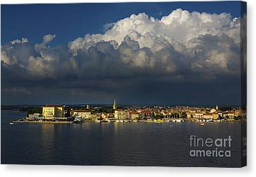Porec Canvas Print by Svetlana Sewell