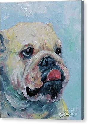 Pork Chop Canvas Print