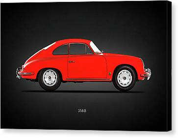 Classic Porsche 356 Canvas Print - Porsche 356 B 1961 by Mark Rogan