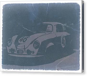 Porsche 356 Coupe Front Canvas Print by Naxart Studio
