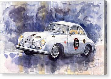 Porsche 356 Coupe Canvas Print by Yuriy  Shevchuk