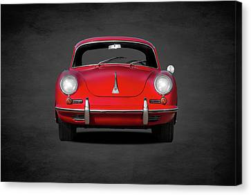Vintage Car Canvas Print - Porsche 356 by Mark Rogan