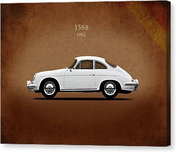 Classic Porsche 356 Canvas Print - Porsche 356b 1962 by Mark Rogan