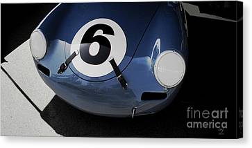 Porsche 6 Ball Canvas Print by Curt Johnson