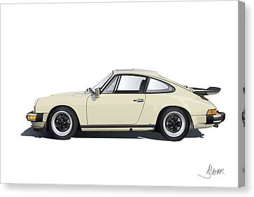 Porsche 911 Carrera Canvas Print by Alain Jamar