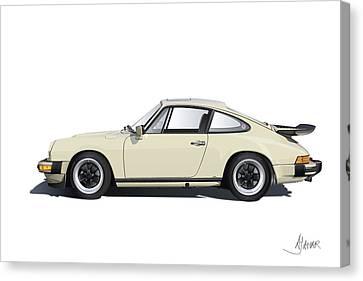 Porsche 911 Carrera Canvas Print by Alain Jamar