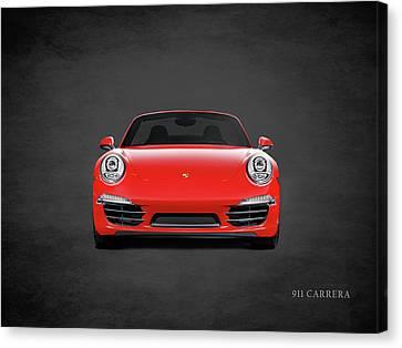 Porsche 911 Carrera Canvas Print by Mark Rogan