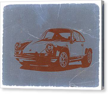 Porsche 911 Canvas Print by Naxart Studio