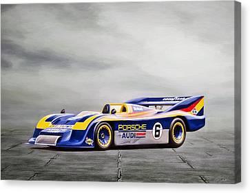 Porsche 917 Can-am Canvas Print by Peter Chilelli