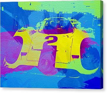 Porsche 917 Front End Canvas Print by Naxart Studio