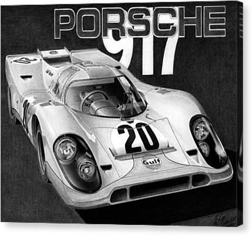 Porsche 917 Canvas Print by Lyle Brown