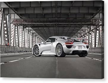 Porsche 918 Spyder Canvas Print