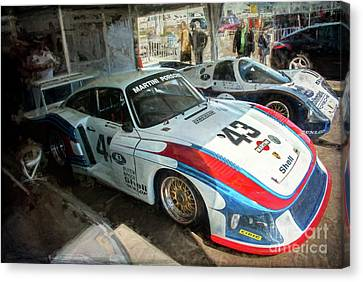 Porsche 935 Moby Dick Canvas Print