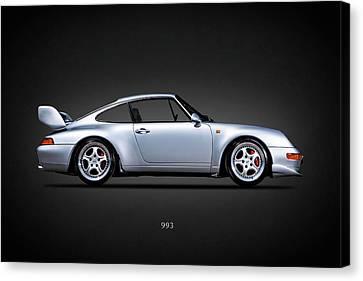 Porsche 993 Canvas Print by Mark Rogan