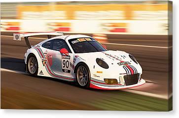 Porsche Gt3, Hockenheimring - 46 Canvas Print