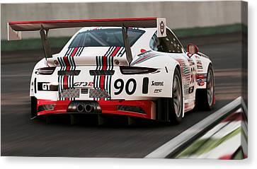 Porsche Gt3, Martini Racing, Monza - 04 Canvas Print