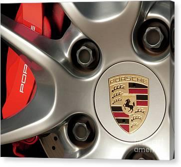 Porsche Wheel Detail #1 Canvas Print