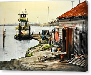 Port Aransas Ways Canvas Print