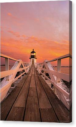 Mid-coast Maine Canvas Print - Port Clyde Maine - Marshall Point by Expressive Landscapes Fine Art Photography by Thom