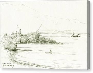 Port De La Selva Canvas Print by Juan Bosco