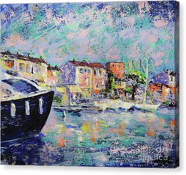 Port Grimaud  Canvas Print by Denys Kuvaiev