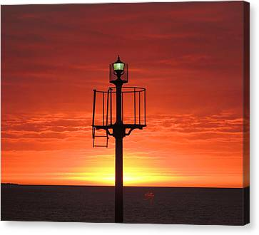 Port Hughes Lookout Canvas Print