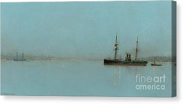 Port Light Canvas Print by John Atkinson Grimshaw
