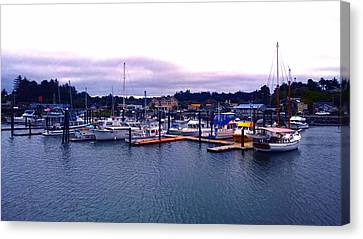 Port Of Bandon Canvas Print