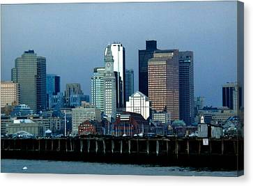 Port Of Boston Canvas Print