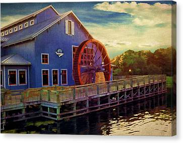 Port Orleans Riverside Canvas Print by Lourry Legarde