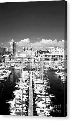 Port Parking Only Canvas Print by John Rizzuto