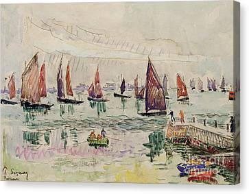 Port St Louis Canvas Print by Paul Signac