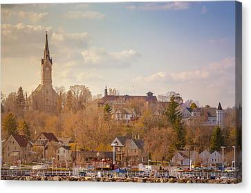 Port Washington Skyline Canvas Print