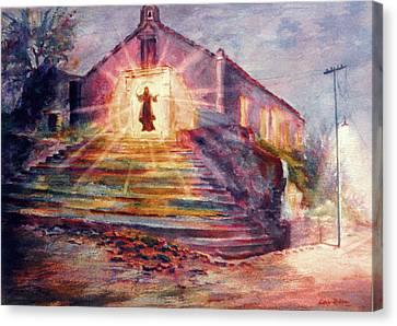 Porta Coeli Canvas Print by Estela Robles