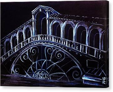 Porta D'acqua - Arte Moderna E Contemporanea Di Venezia Canvas Print by Arte Venezia