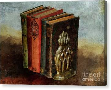 Canvas Print featuring the digital art Portable Magic by Lois Bryan