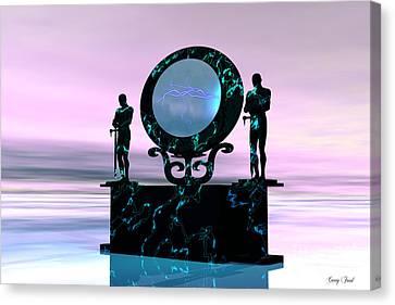 Figment Canvas Print - Portal by Corey Ford