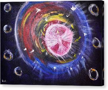 Portal Canvas Print by Denise Warsalla