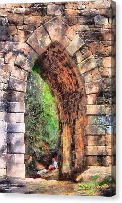 Portal Into Summertime Canvas Print